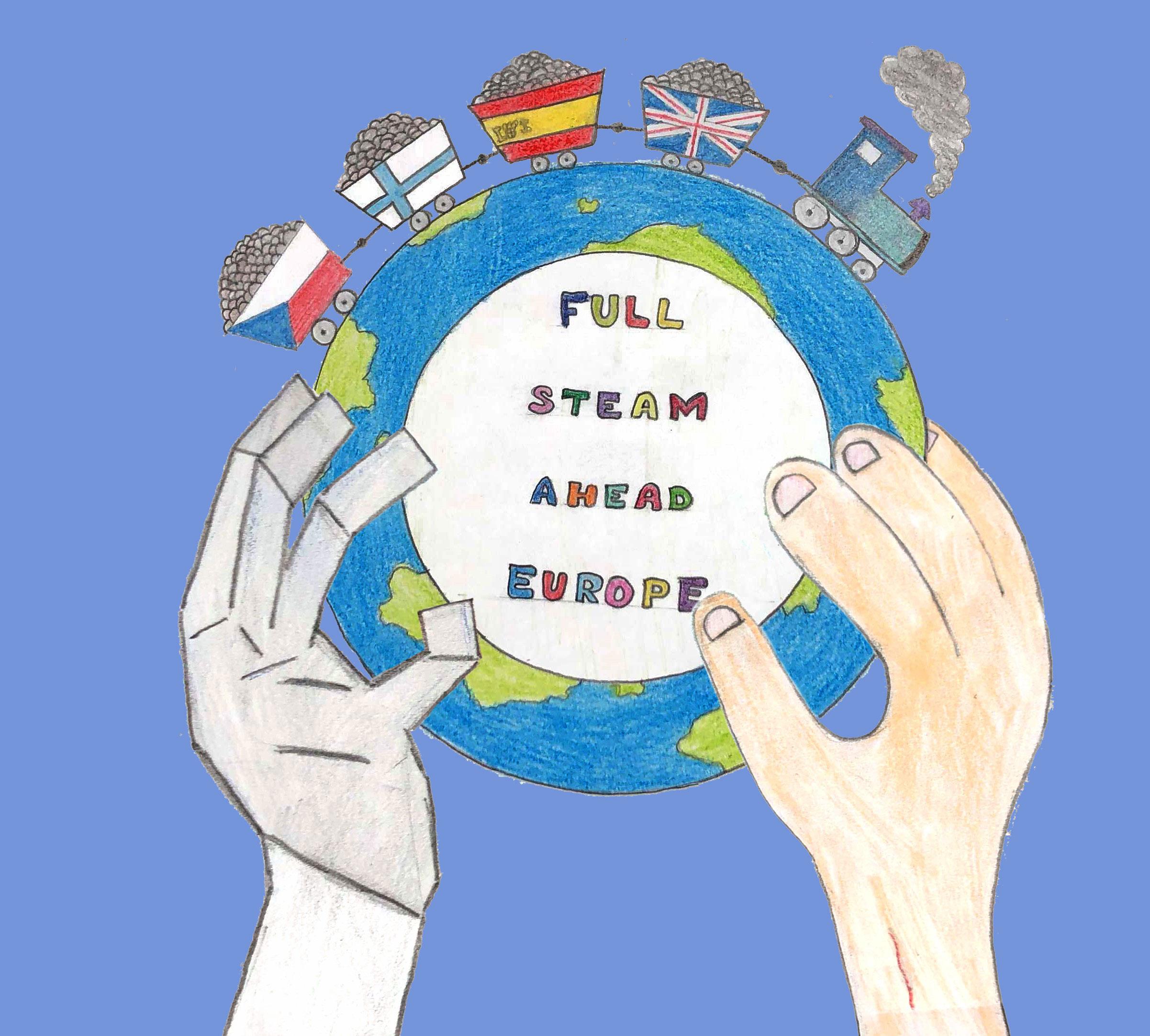 Fullsteamaheadeurope Logo